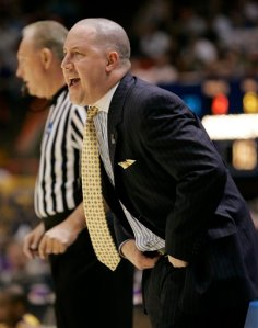 Buzz Williams won his first NCAA Tournament in his first try Friday, knocking off Utah State 58-57.