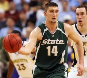Goran Suton will be key is Michigan State wants to pull of the upset of UConn.