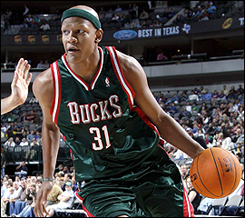 After injuries to Michael Redd and Andrew Bogut, Charlie Villanueva stepped up and played the best basketball of his career.