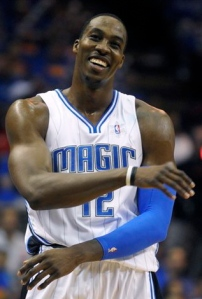 Don't let the smile fool you: Dwight Howard is all business when he steps on the court.