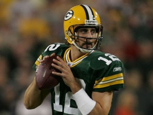 Aaron Rodgers will now be under extra pressure to perform after such a successful 2008.