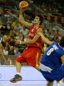Ricky Rubio will be one of two foreign point guards slotted to be taken in the top 5.