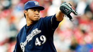 Yovani Gallardo has become the ace for the Milwaukee Brewers.
