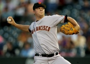 Absolutely no one has stopped Matt Cain this year, making him the starting pitcher for the NL.