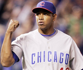 Carlos Marmol will take over ninth inning duties in Chicago for now.